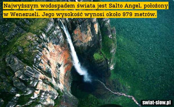 Najwyższy wodospad świata