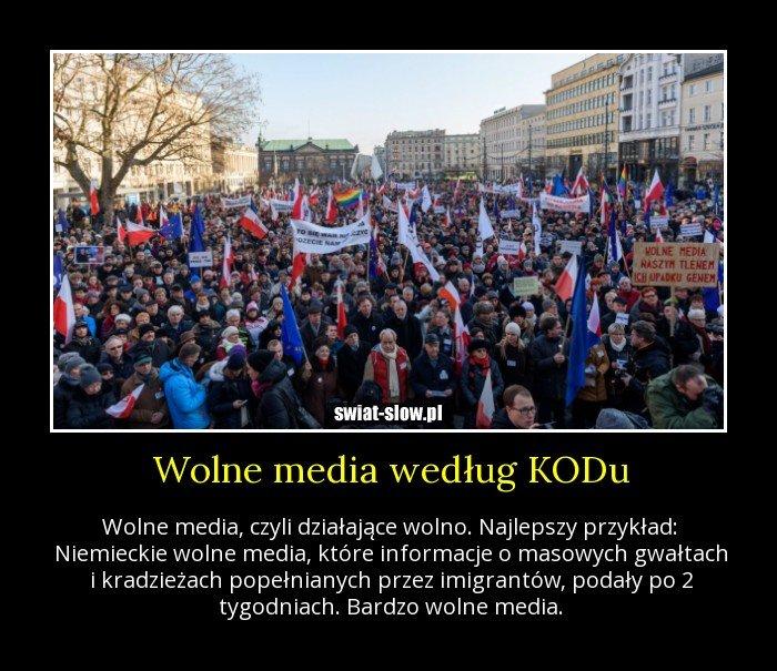 Wolne media według KODu