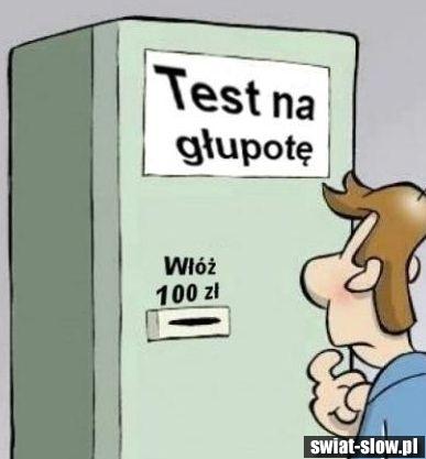Test na głupote