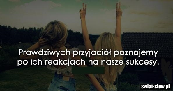 Prawdziwych przyjaciół