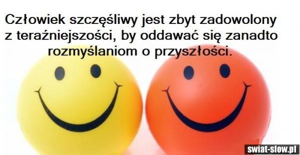 człowiek szczęśliwy