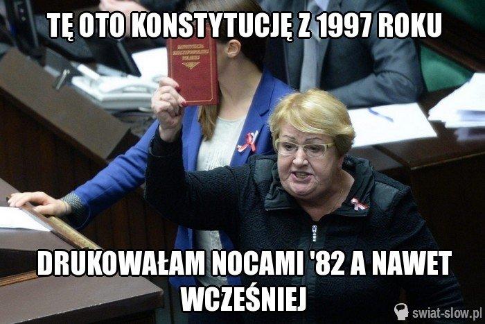 Tę oto konstytucję z 1997 roku
