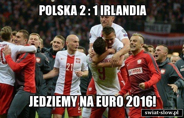 Polska 2 : 1 Irlandia