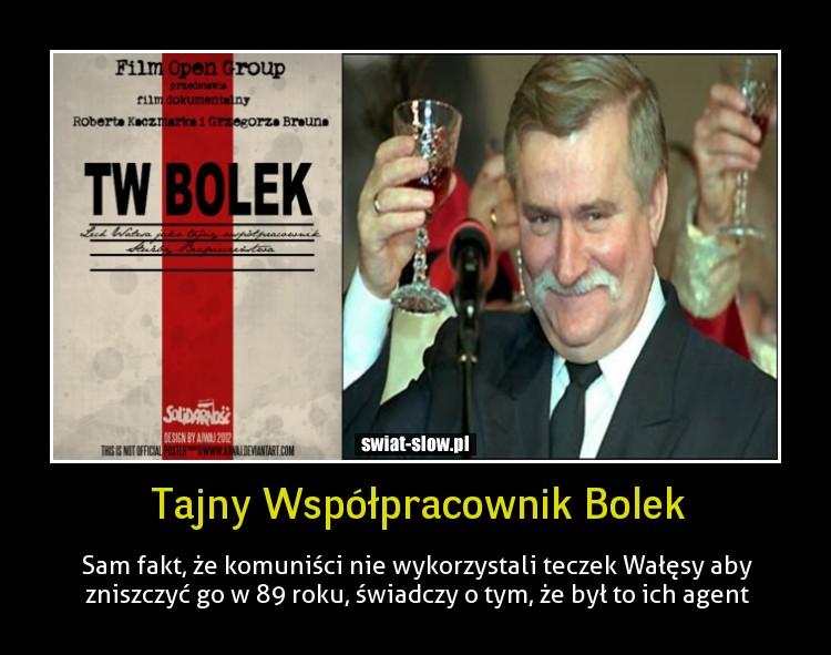Tajny Współpracownik Bolek